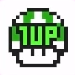 SMM2 1 Up Mushroom SMB3 icon.png