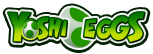 The logo for the Yoshi Eggs, from Mario Super Sluggers.