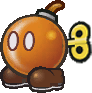 Sprite of Bub from Paper Mario: The Thousand-Year Door