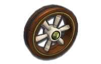 Wood tires from Mario Kart 8