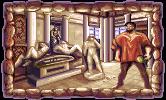 Michelangelo Buonarroti in the PC release of Mario's Time Machine