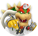 Icon of Dr. Bowser from Dr. Mario World