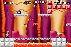 Level 3-4 in Mario vs. Donkey Kong