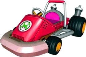 Toadette Kart artwork.