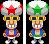 Sprite of the Starshade Bros. from Mario & Luigi: Superstar Saga + Bowser's Minions