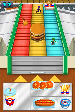 Fast Food Frenzy from Mario Party DS