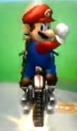 Mario performing a Trick