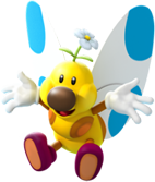 Artwork of a Flutter from Mario Party Island Tour