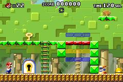 Level 2-4 in Mario vs. Donkey Kong