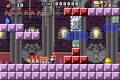 Level 4-mm in Mario vs. Donkey Kong