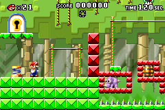 Level 2-2 in Mario vs. Donkey Kong
