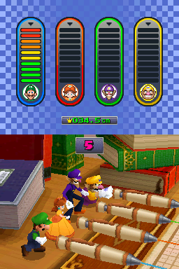 Get the Lead Out from Mario Party DS