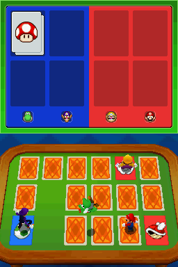 Gameplay of Memory Mash in Mario Party DS.
