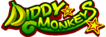 The logo for the Diddy Monkeys, from Mario Super Sluggers.