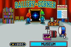 Game & Watch Gallery 4s Museum from outside