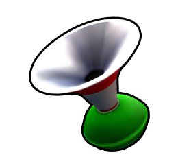 Horn from Mario Kart Arcade GP DX.