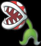 A Fire Stalking Piranha Plant in Mario & Luigi: Superstar Saga + Bowser's Minions.