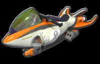 Jet Bike body from Mario Kart 8