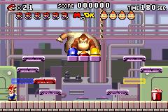 Level 1-DK in Mario vs. Donkey Kong