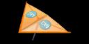 Orange Mii's Super Glider in Mario Kart 7