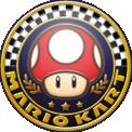 Mushroom Cup emblem for Mario Kart 8