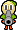 Overworld sprite of a Gunner Guy from Mario & Luigi: Superstar Saga.