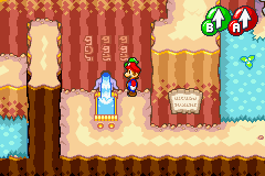 The Watering Hole in Mario & Luigi: Superstar Saga