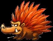 Concept artwork of a Porcupal