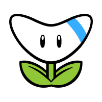 Boomerang Flower stamp from Super Mario 3D World + Bowser's Fury.