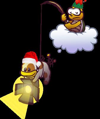 Shroom Spotlight Holiday Poochy.png