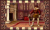 Francis Drake in the PC release of Mario's Time Machine
