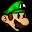 Xat.com Smiley Paper Luigi.png