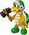 Sprite of a Hammer Bro from Mario & Luigi: Superstar Saga + Bowser's Minions.
