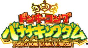 The logo for Donkey Kong: Banana Kingdom.