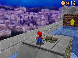 Mario at Wet-Dry World