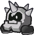 A normal Cleft from Paper Mario: The Thousand-Year Door.