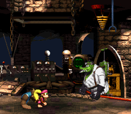 Kastle Kaos from Donkey Kong Country 3: Dixie Kong's Double Trouble!