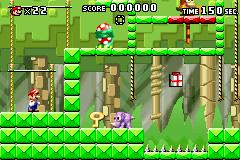 Level 2-6 in Mario vs. Donkey Kong