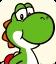 Sprite of Yoshi from Mario Party: Star Rush
