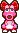 Birdo's overworld sprite from Mario & Luigi: Superstar Saga.