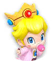 Icon of Dr. Baby Peach from Dr. Mario World