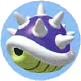 Mario Kart: Super Circuit promotional artwork: Spiny Shell.
