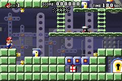 Level x-12 in Mario vs. Donkey Kong