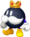 King Bob-omb in Mario & Luigi: Paper Jam.