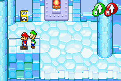 Hidden? Block location in Joke's End, in Mario & Luigi: Superstar Saga.