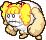Overworld sprite of one of Jojora's friends from Mario & Luigi: Superstar Saga.