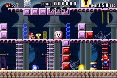 Level 4-5+ in Mario vs. Donkey Kong
