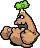 Trunkle's overworld sprite from Mario & Luigi: Superstar Saga.