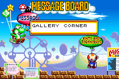 Game & Watch Gallery 4's Message Board