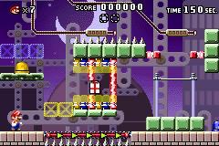 Level 6-4 in Mario vs. Donkey Kong